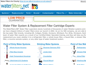 WaterFilters.net Coupons