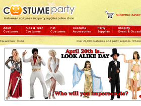 Costume Party Coupons