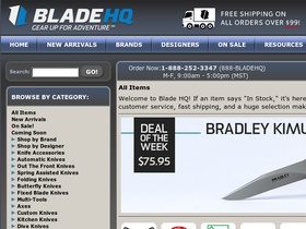 Blade hq discount coupon