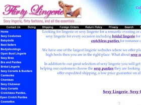 Flirty Lingerie Coupons