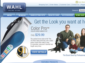 Wahl Online Store Coupons