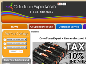Color Toner Expert Coupons