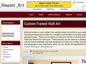 Amanti Art Coupons