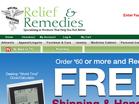 Relief and Remedies Coupons