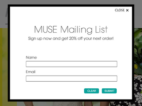 Muse Apparel Coupons