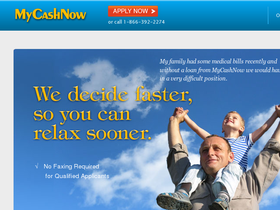 MyCashNow Coupons