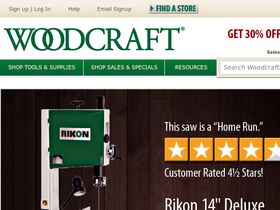 Woodcraft Supply Coupons