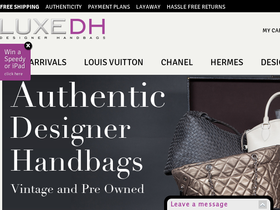 Luxe Designer Handbags Coupons