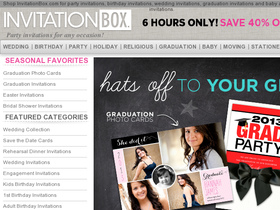 InvitationBox Coupons