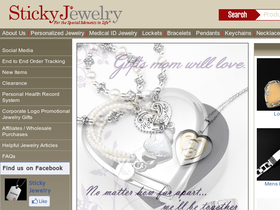 Sticky Jewelry Coupons
