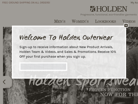 Holden Outerwear Coupons