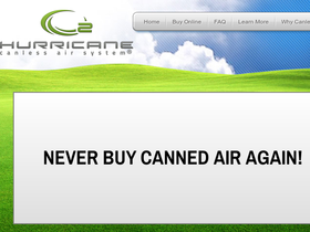 Hurricane Canless Air Coupons