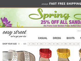 Easy Street Shoes Coupons