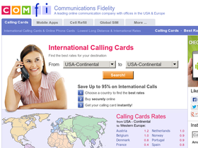 ComFi Phonecards