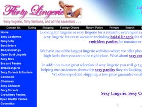Flirty Lingerie