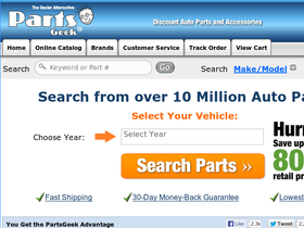 Parts express coupon code free shipping