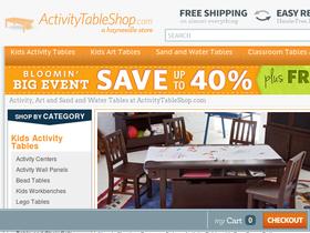 Activity Table Shop