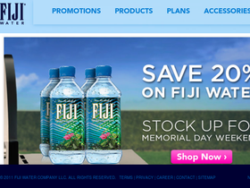 FIJI Water Delivery Service