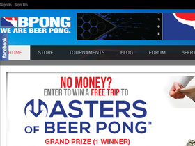 Beer Pong Store (BPONG)