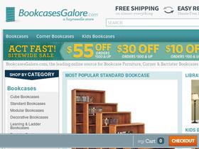 Bookcases Galore