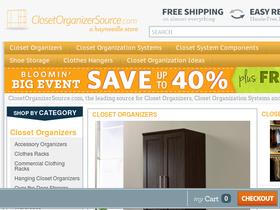 Closet Organizer Source