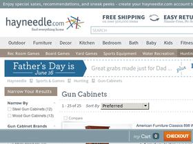 Gun Cabinets & Safes