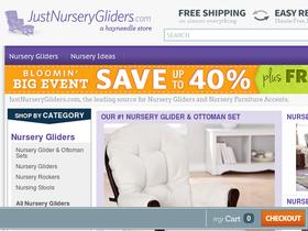 Just Nursery Gliders