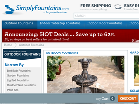 Only Outdoor Fountains