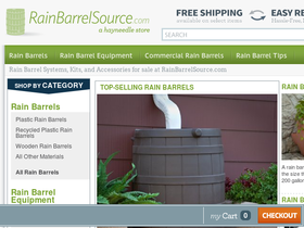 Rain Barrel Source