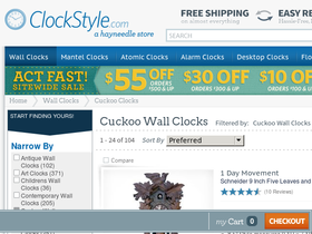 Just Cuckoo Clocks