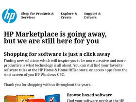 HP Download Store