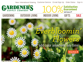 Gardener's supply coupon 20