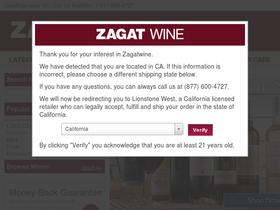 Zagat Wine