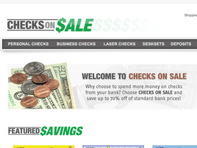 Checks on Sale