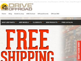 Drive Offroad Coupons