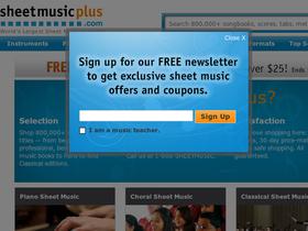 SheetMusicPlus.com
