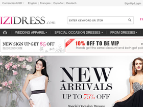 iziDress Coupons