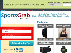 SportsGrab AU Coupons