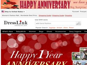 Active DressLink Coupon Code & Discount Code