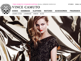 Vince Camuto has offered a sitewide coupon (good for all transactions) for 30 of the last 30 days. The best coupon we've seen for polukochevnik-download.gq was in December of and was for $48 off. Sitewide coupons for polukochevnik-download.gq are typically good for savings between $20 and $