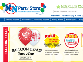 M & N Party Store Coupons