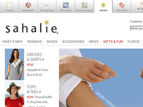 Sahalie Coupons