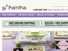 PartyPail Coupons