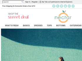 Nectar Clothing Coupons