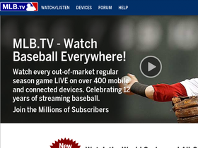 MLB.tv Coupons