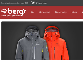 Berg's Ski Shop Coupons