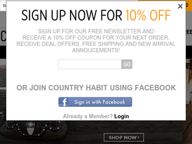 Country Habit Coupons