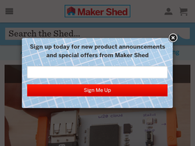 Maker Shed Coupons
