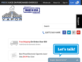 Mount Baker Vapor Coupons