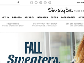 SimplyBe Coupons